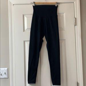 DYI Brand black high-waist leggings, ankle length